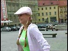 Blonde Stalking Girls For Flashing 1