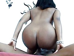Black Chick Gets Fucked By A Proper Dick