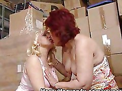 Granny Lesbian Masturbation