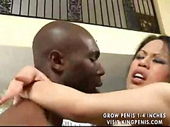 asian interracial shaved nice tits pussylick cocksuck