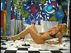 Big Tits Masturbation Blonde Lingerie Big Tits Blonde Caucasian Lingerie Masturbation Shaved Solo Girl Toys Vaginal Masturbation