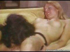 vintage lesbians lick stockings kiss