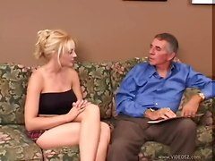 pussy eating blowjob old man