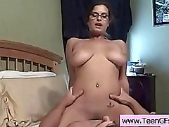 Big Tits Girlfriends Riding Teen