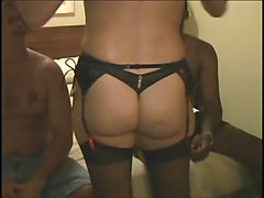 Amateur Black and Ebony Matures Cream Pie