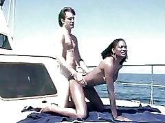 Boat Ebony black doggy style