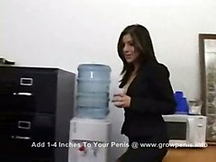 cumshot hardcore latina blowjob pussyfucking office fetish pantyhose
