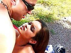 Public Latina Interracial Brunette Couple Cum Shot Interracial Latin Outdoor Pornstar Public Vaginal Sex Daisy Dukes Daisy Marie