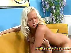 Blondes Riding Teen