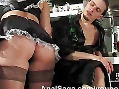 Anal Hardcore Maids ass stockings upskirts