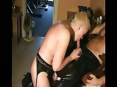 Blowjobs Mature blowjob leather oral oral sex