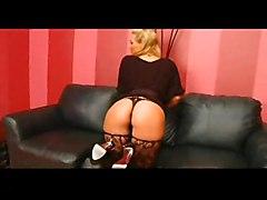 anal stockings cumshot blonde blowjob fingering asstomouth highheels bigass pussyfucking