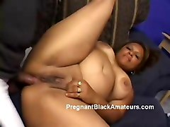 ebony pregnant fat 3some assfuck black