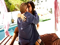 Roxy Jezel Enjoys Some Cock At The Pool