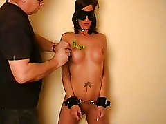 Amateur BDSM BDSM bastinado crying destroyed dungeon extreme pussy pain sexual torture tit torture