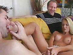 Cougars Cuckold Toe Sucking