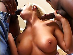 Anal Group Interracial Blonde Double Penetration Anal Sex Blonde Blowjob Caucasian Cum Shot Deepthroat Double Penetration Gagging High Heels Interracial Oral Sex Pornstar Swallow Threesome Vaginal Sex Barbara Summer