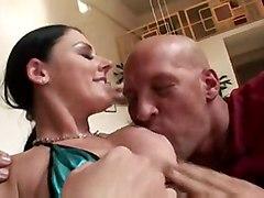 cumshot hardcore blowjob handjob brunette bigass pussyfucking cumonass
