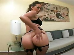 stockings cumshot hardcore interracial blowjob brunette bigass pussyfucking