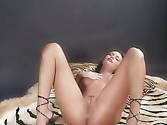 Babes Bedroom Shaved Pussy boots milf