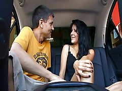 Teens Facials Black-haired Blowjob Car Caucasian Couple Cum Shot Facial Oral Sex Teen Vaginal Sex Lina Paige Michael Stefano