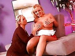 Big Tits Lesbian MILF Blonde Big Tits Blonde Caucasian Lesbian MILF Masturbation Pornstar Toys Vaginal Masturbation Abbey Brooks