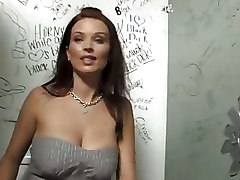 Bailey Brooks Big Black Cock Big Cock Glory Hole Gloryhole Interracial Public Toilet