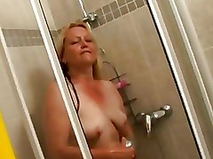 Mature Riding blonde older