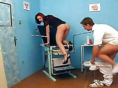 Hospital Pussy Speculum redhead shaved pussy