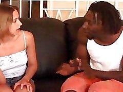 Big Tits Interracial Teen