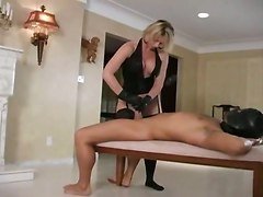 Leather Gloves Handjob Glovejob BlondeCum BJ HJ Other Fetish Blonde