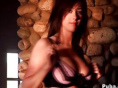 Masturbation Brunette Caucasian Glamour Masturbation Shaved Solo Girl Vaginal Masturbation Taylor Vixen