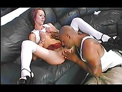 Interracial Blowjob Caucasian Couple Cum Shot Interracial Kissing Licking Vagina Oral Sex Small Tits Vaginal Sex 