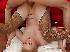 Blondes Teen hardcore stockings