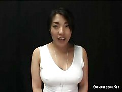 Wild & Crazy Asian Squirting Asian Black-haired Funny Solo Girl Squirting