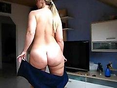 video blonde amateur solo teasing bigass home realamateur softcore