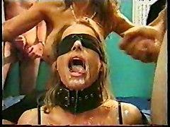 Cumshot Group Fetish Gangbang Blonde Blonde Bukkake Caucasian Cum Shot Domination Gangbang Glamour