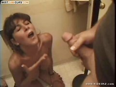 milf swallow hot fuck sexy skilful thick cum