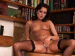 Fingering Pornstars Shaved Pussy Stockings