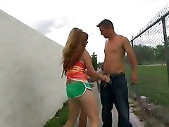 Amateur Outdoor Stripper