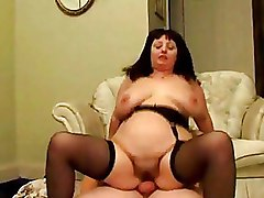 Amateur Fat Mature Riding