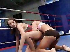 Lesbian Sport Wrestling