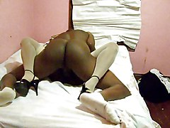 Amateur Black and Ebony Stockings