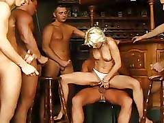 Bar Gang Bang Group Sex