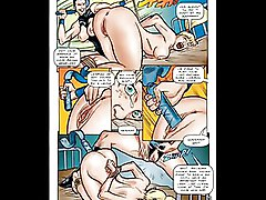 BDSM Art Cartoons Comics
