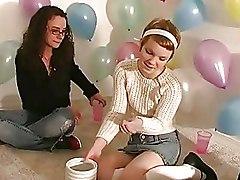 Amateur Lesbian Party Sex Games