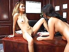 Lesbian Asian Asian Lesbian Licking Vagina Masturbation Office Oral Sex Pornstar Small Tits Toys Vaginal Masturbation Lana Croft Nyomi Marcela