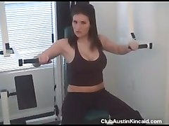gym brunnete