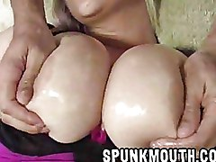 Big Tits Blondes Cum on Tits busty milf