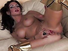 Big Tits Kayla Paige Masturbation Pornstars big tits babes masturbating pussy play solo babes
